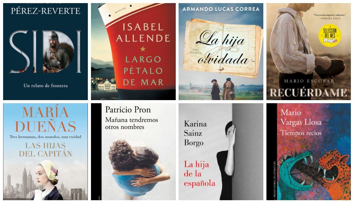 Portadas libros en español 2019