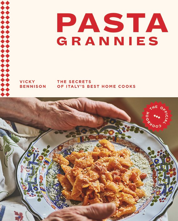 Pasta Grannies book cover