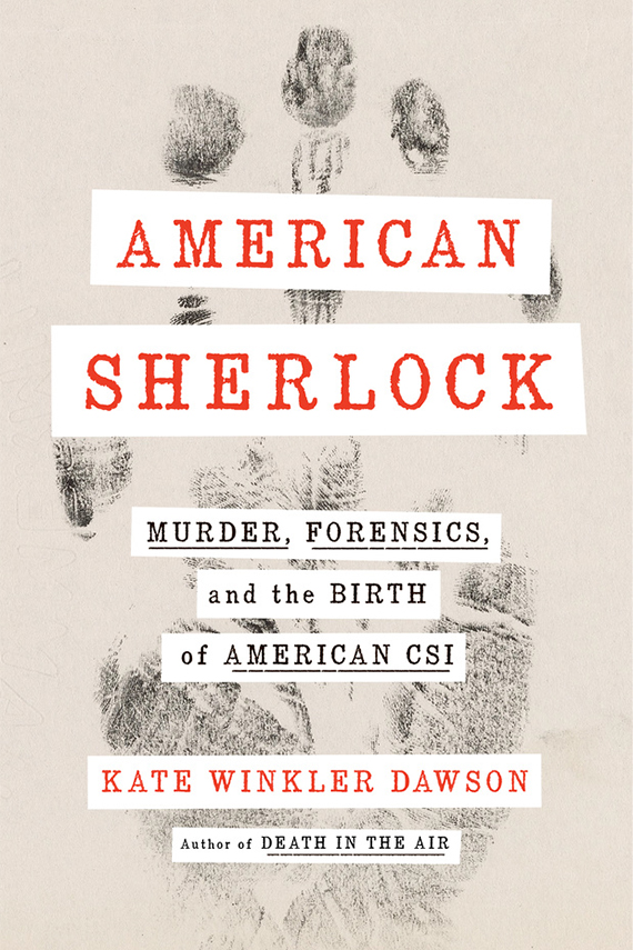 American Sherlock book cover