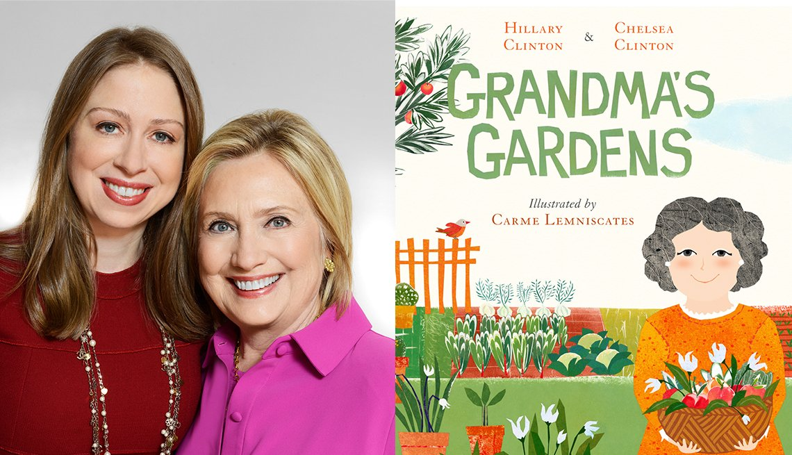 Hillary and Chelsea Clinton - Grandma's Garden book cover
