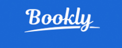 logo for reading app bookly