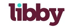 logo for book app libby
