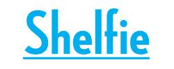 logo for book app shelfie