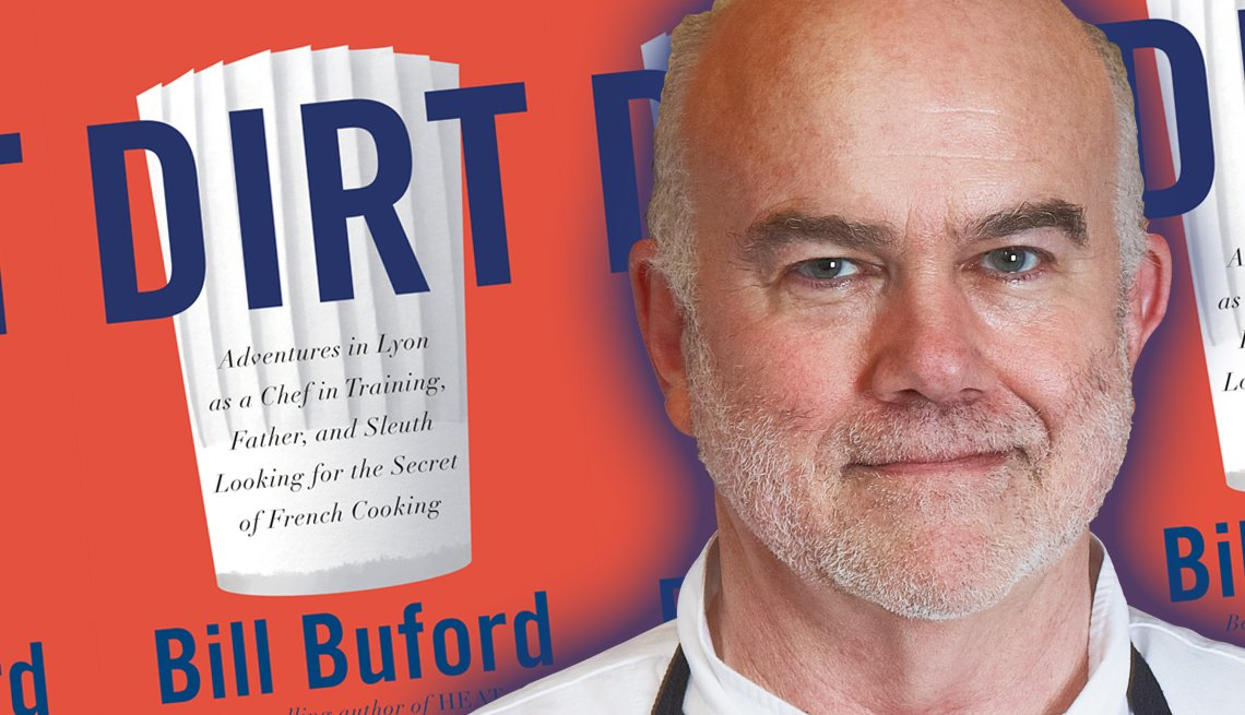chef and author bill buford and his latest book titled dirt