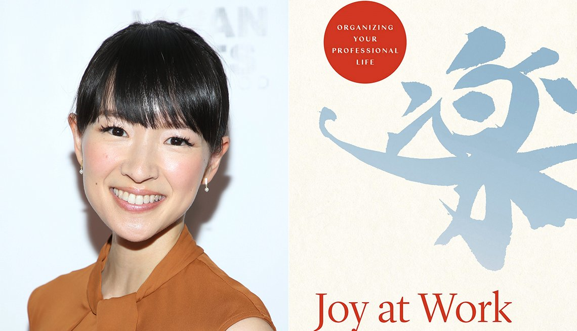 Marie Kondo, Joy of Work book cover