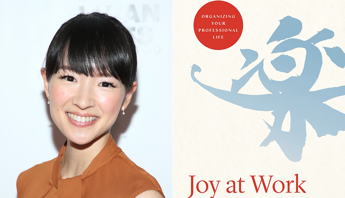 Marie Kondo, Joy of Work book cover