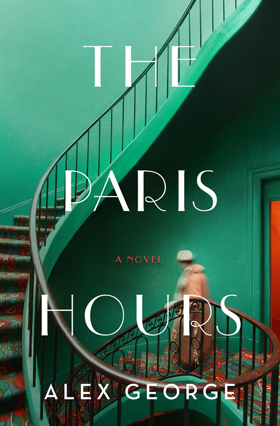 book cover of The Paris Hours by Alex George