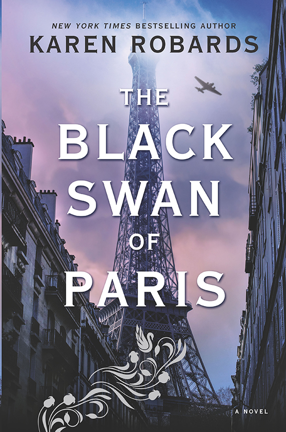 book cover of The Black Swan of Paris by Karen Robards