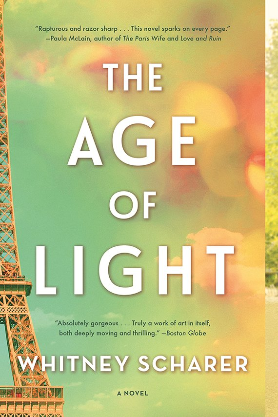 book cover of The Age of Light by Whitney Scharer