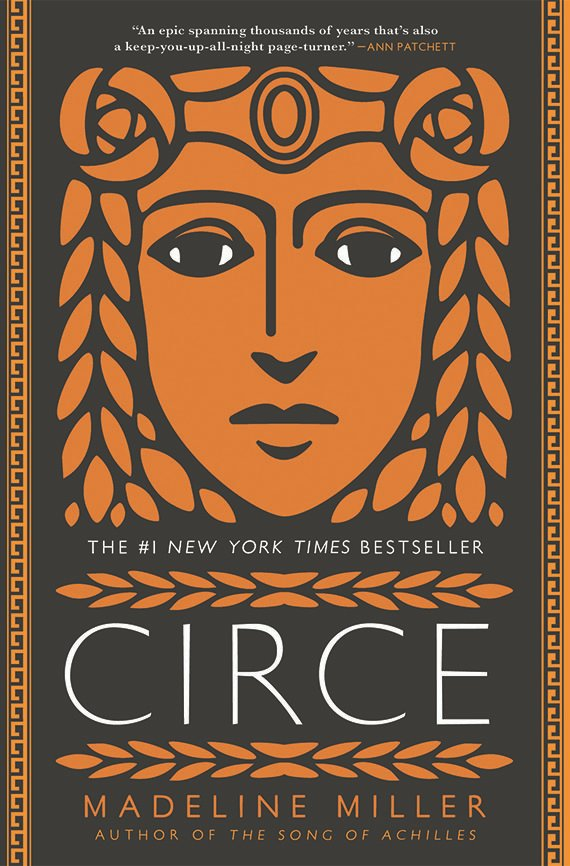Circe, Madeline Miller book cover