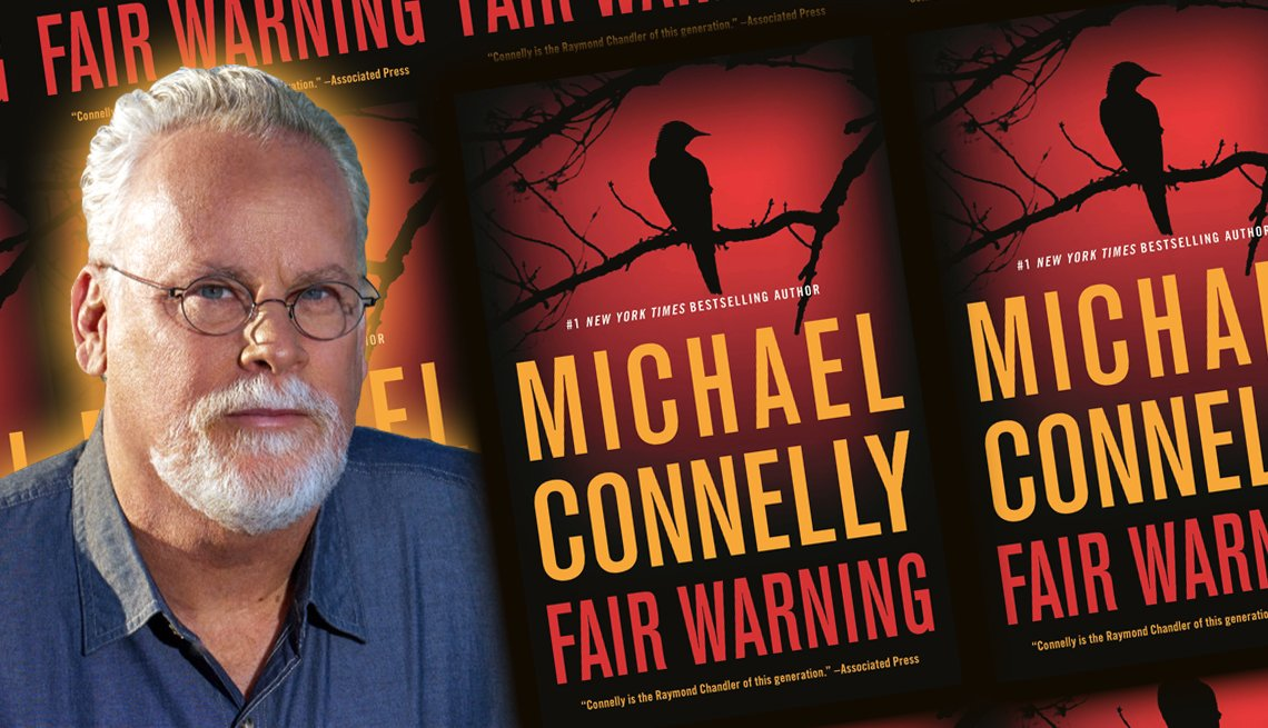 author michael connelly and his latest book fair warning