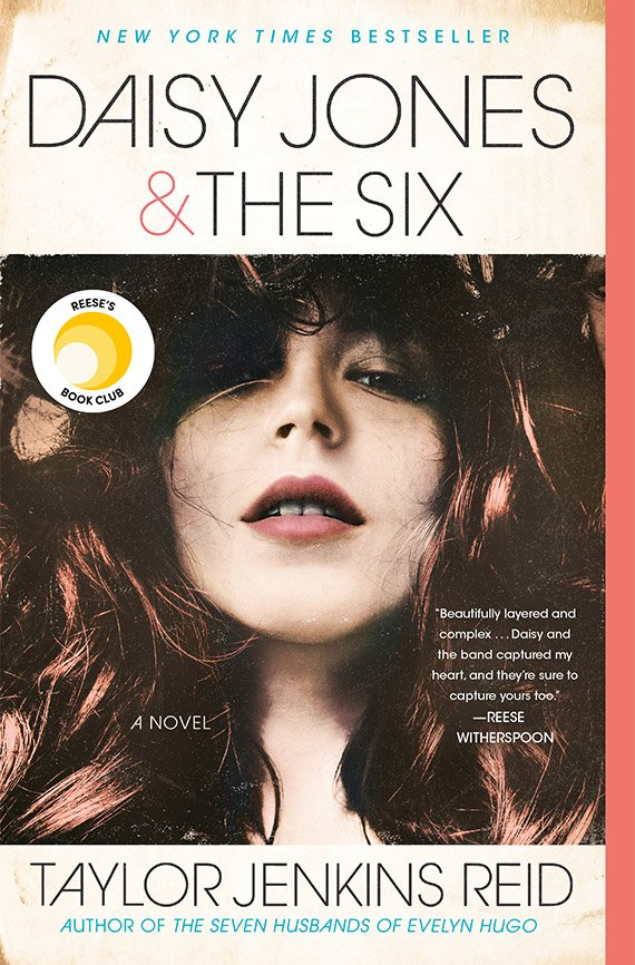 Daisy Jones and the Six, Taylor Jenkins Reid book cover