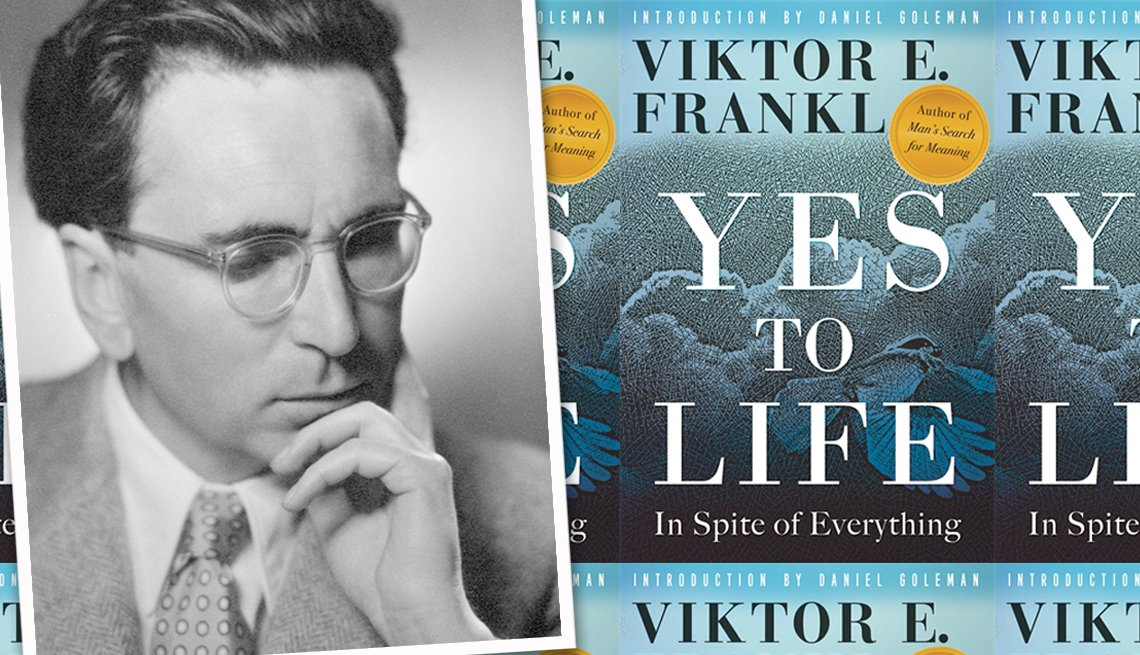 Yes to Life, Viktor Frankl book cover