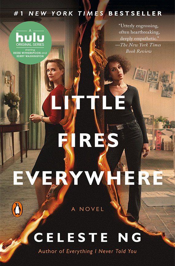 Little Fires Everywhere, Celeste Ng book cover