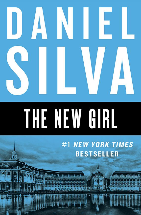The New Girl, Daniel Silva book cover