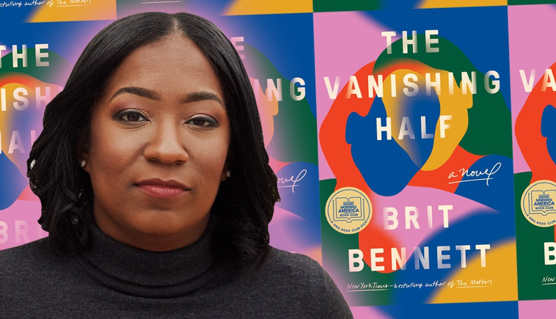 author britt bennett and her latest book the vanishing half