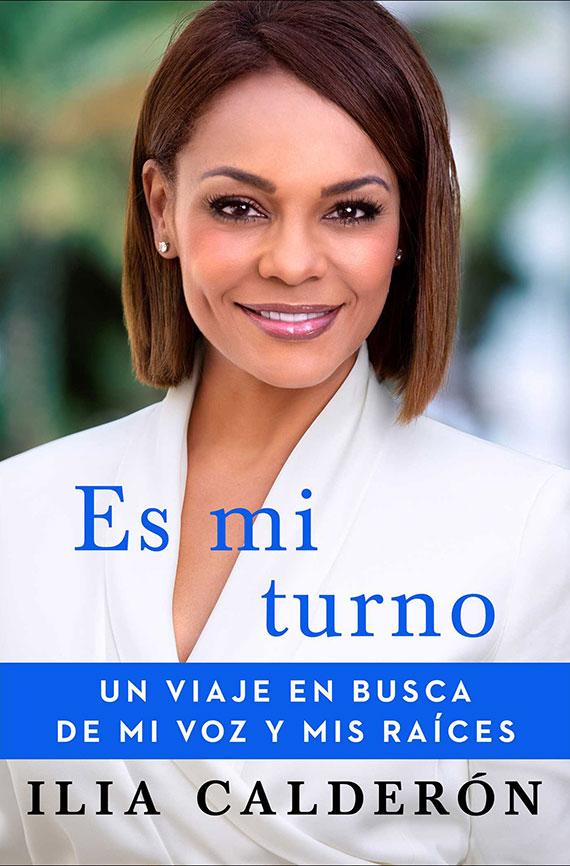 Portada de Es mi turno, un viaje en busca de mi voz y mis raíces, de Ilia Calderón.