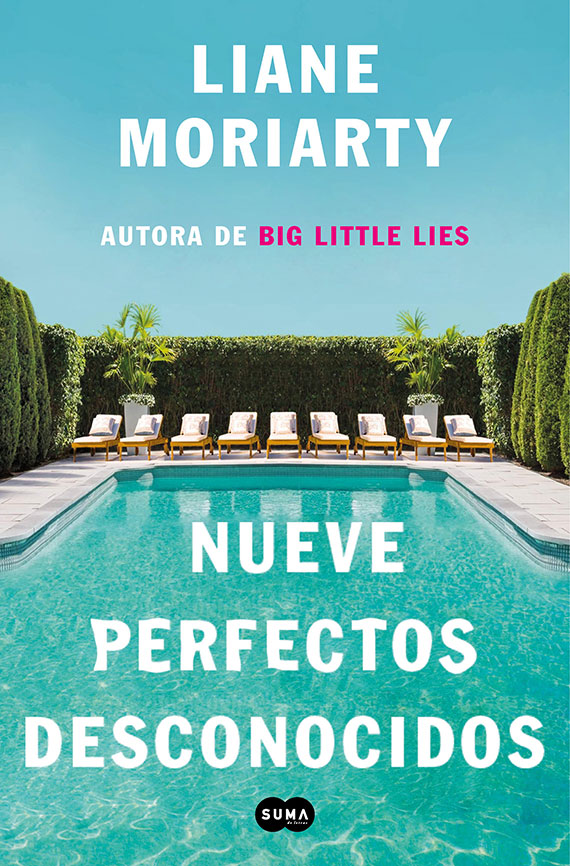 Portada de Nueve perfectos desconocidos, de Liane Moriarty.