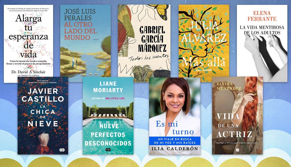 Portadas de libros en español para el verano 2020.