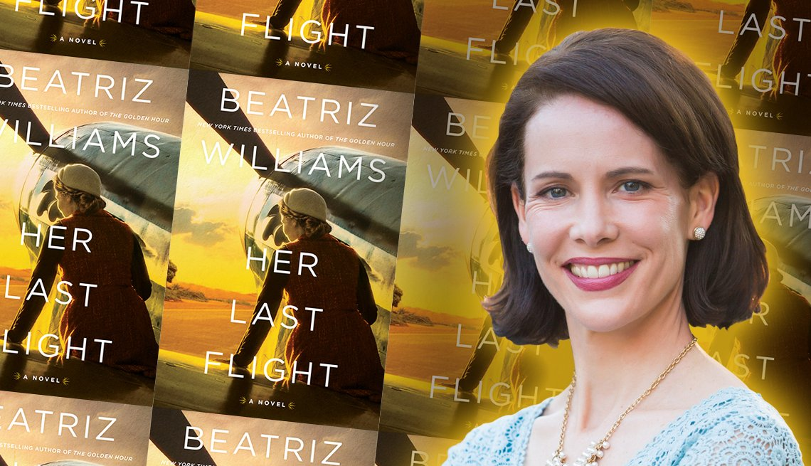 author beatriz williams and her latest book titled her last flight