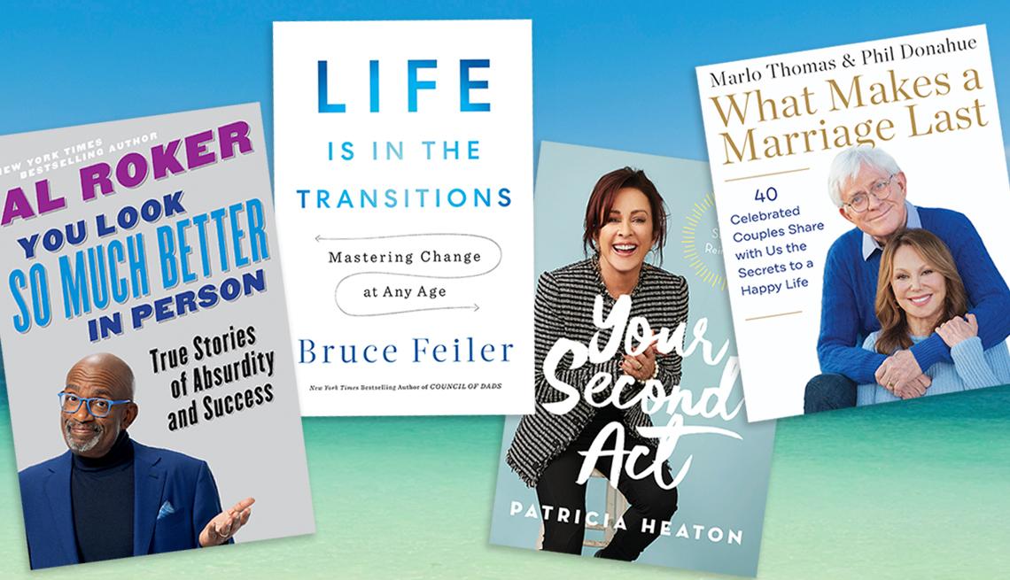 Nuevos libros sobre cómo vivir bien por Al Roker, Bruce Feiler, Patricia Heaton y Marlo Thomas con Phil Donahue