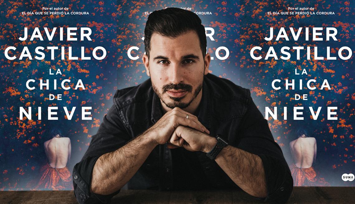 Javier Castillo y el libro 'La Chica De Nieve'