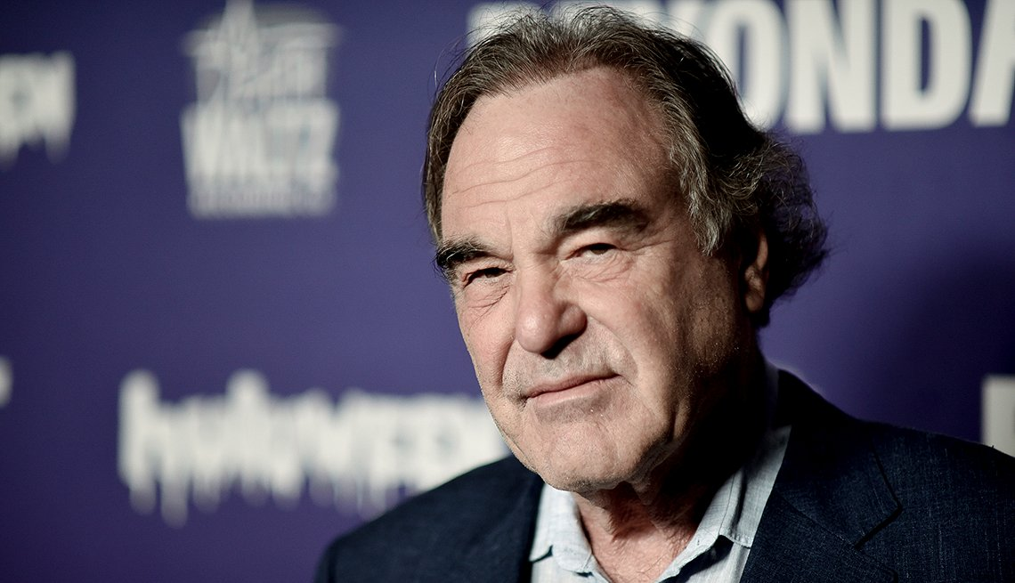 Oliver Stone at the Beyond Fest 25th Anniversary Screening of Natural Born Killers