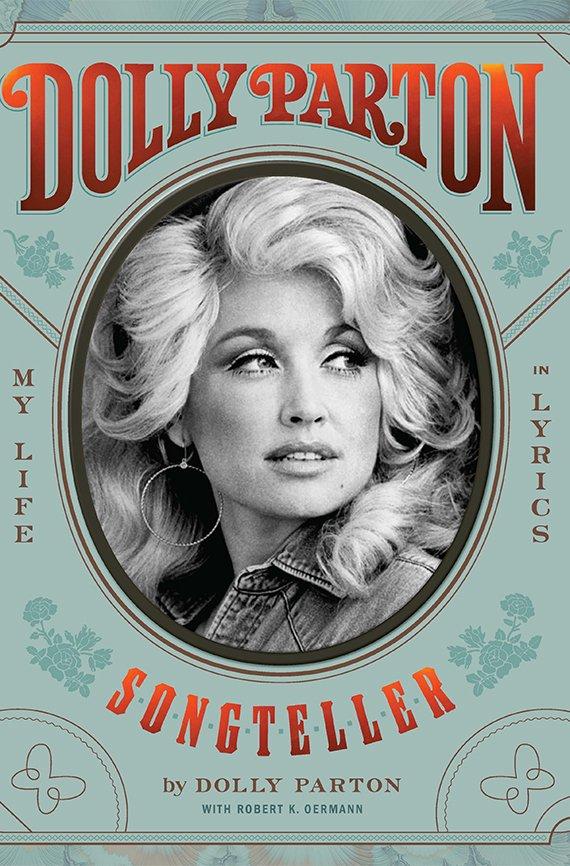 Portada del libro, Dolly Parton, Songteller: My Life in Lyrics