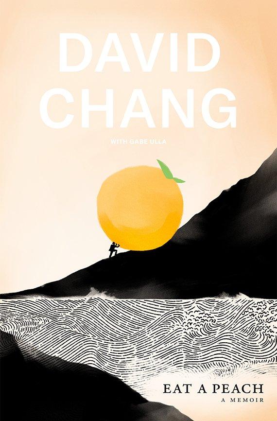 Portada del libro, Eat a Peach: A Memoir