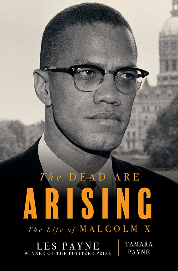 Portada del libro, The Dead Are Arising: The Life of Malcolm X