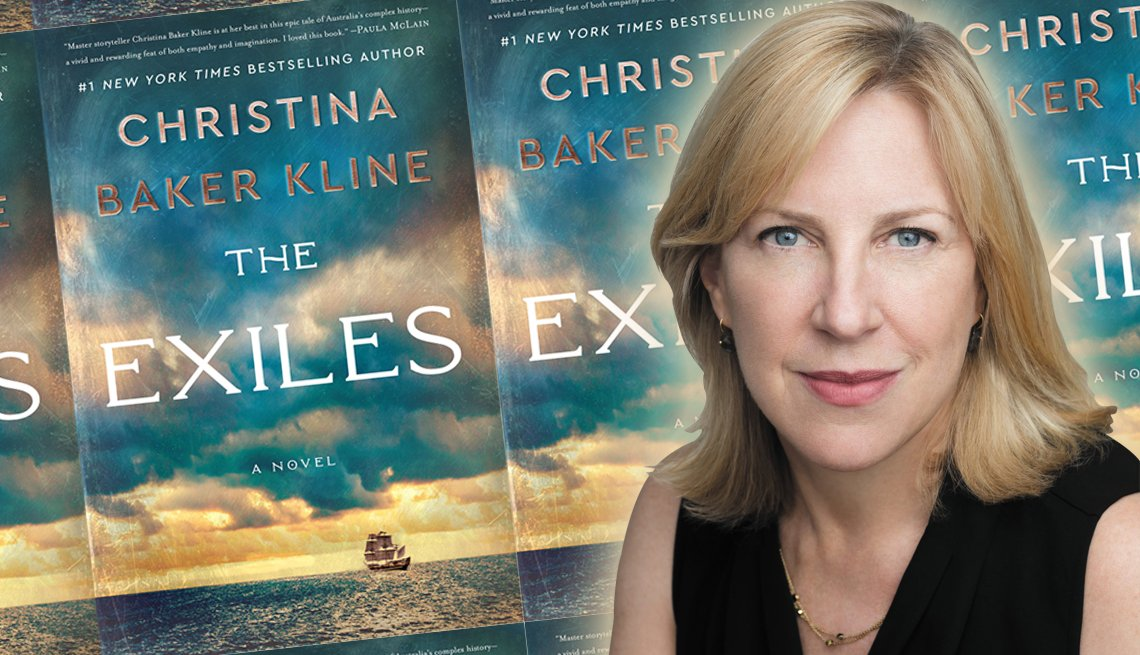 author christina baker kline and her latest novel the exiles