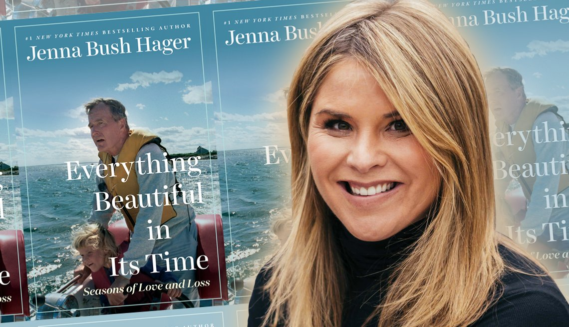 author jenna bush hager and her new memoir everything beautiful in its time