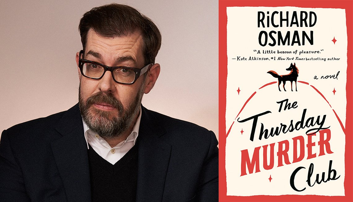 Richard Osman, The Thursday Murder Club book cover