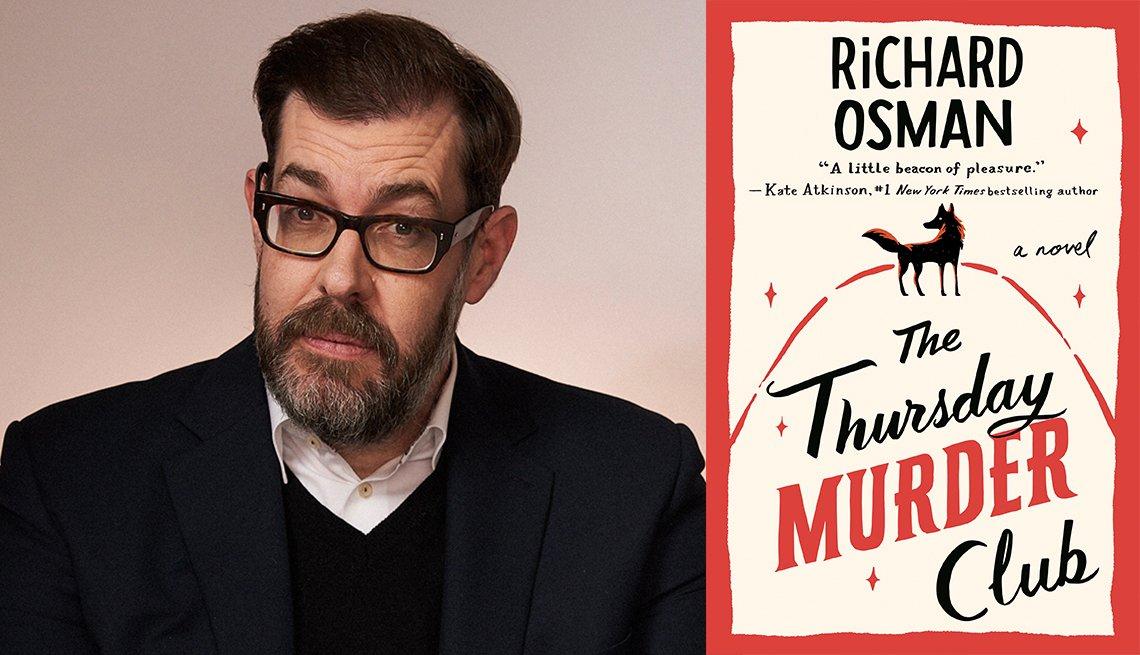 Richard Osman, The Thursday Murder Club book cover