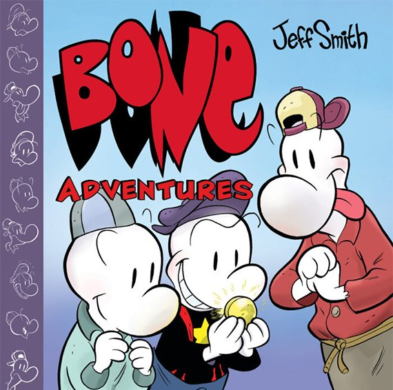 Portada del libro Bone Adventures