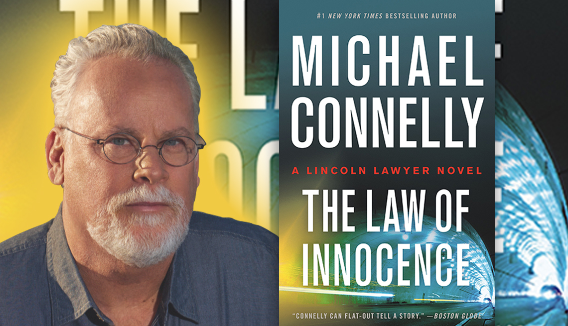 author michael connelly and his latest novel titled the law of innocence