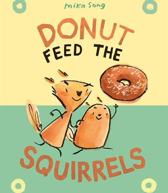 Portada del libro Donut Feed the Squirrels