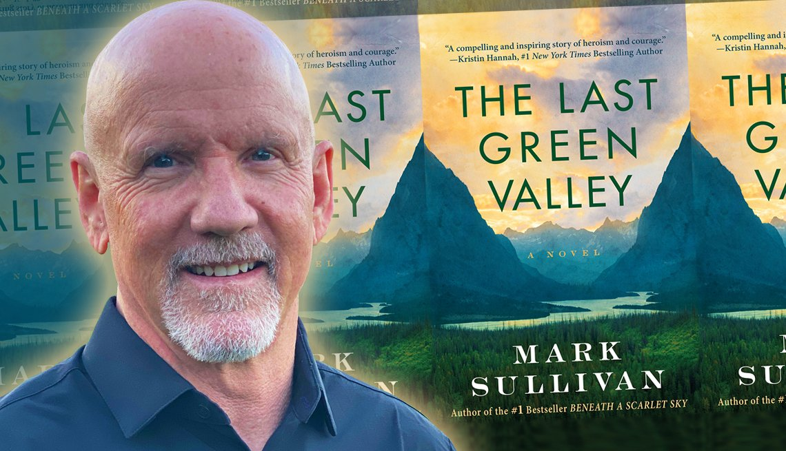 author mark sullivan and his upcoming release the last green valley