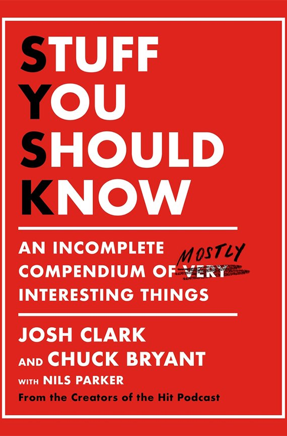 Stuff You Should Know book cover