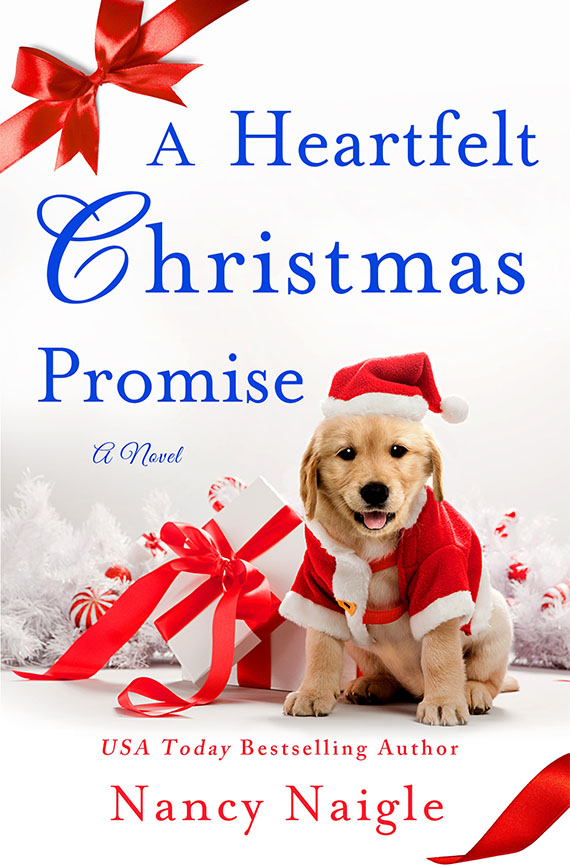 A Heartfelt Christmas Promise book cover