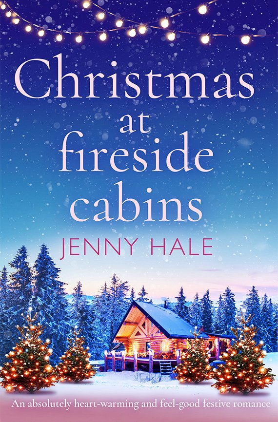 Christmas at Fireside Cabin book cover