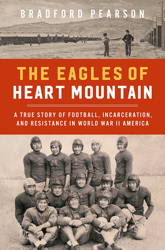 Portada del libro, The Eagles of Heart Mountain