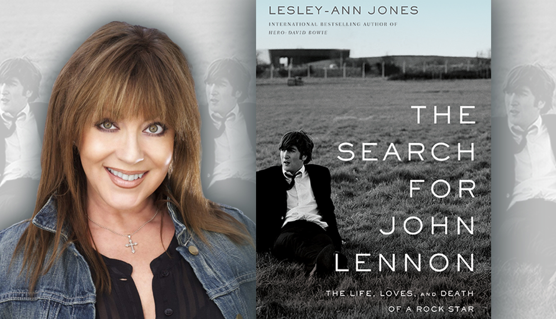 author lesley ann jones and her book the search for john lennon