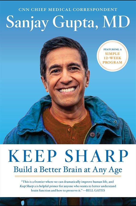Keep Sharp by Sanjay Gupta, MD book cover