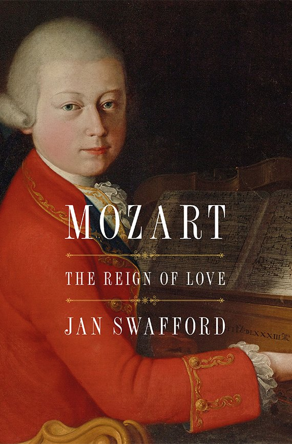 Portada del libro, Mozart, The Reign of Love