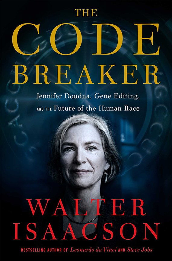 Portada del libro, The Code Breaker