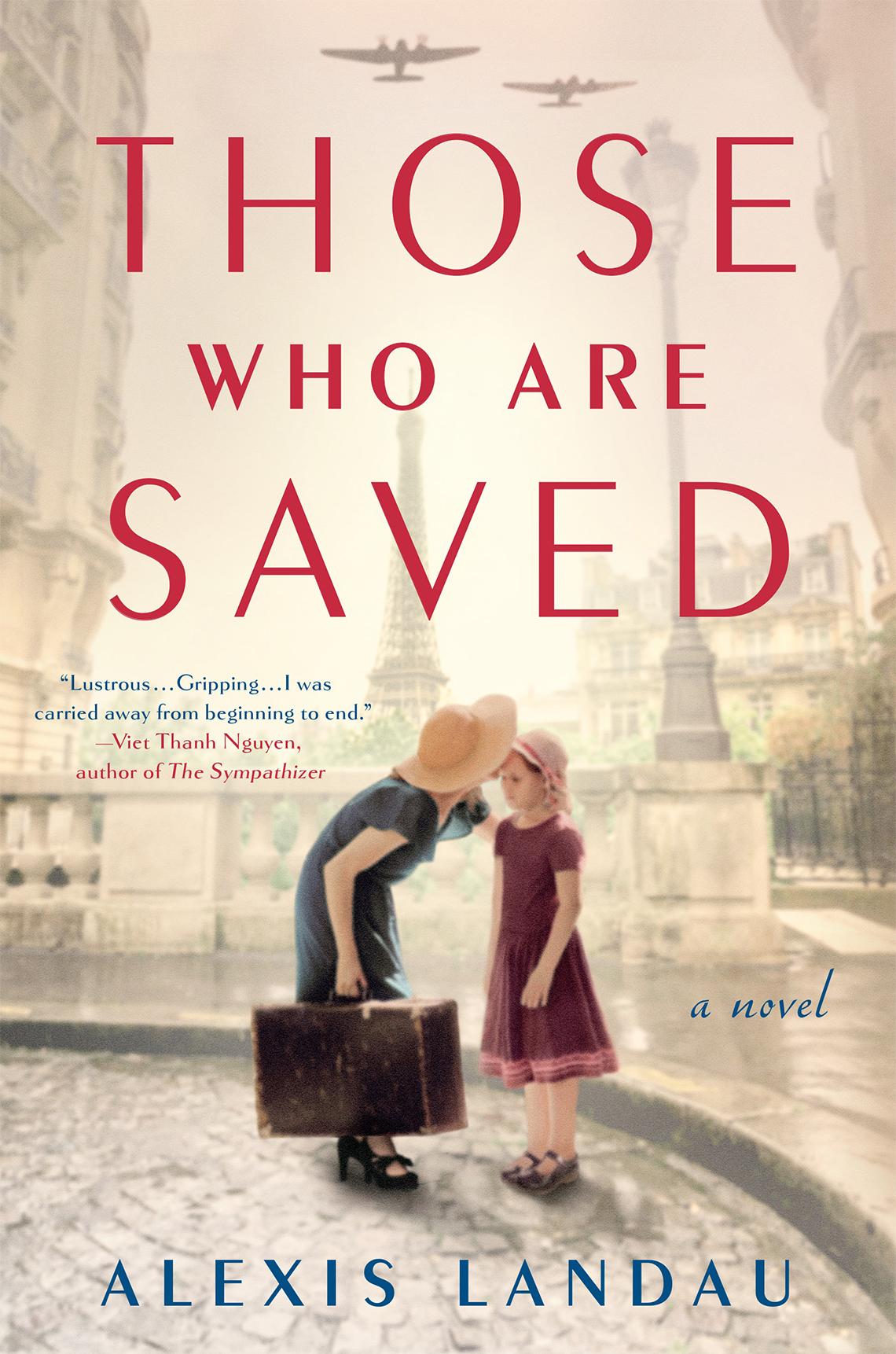 Portada del libro Those Who Are Saved de Alexis Landau.