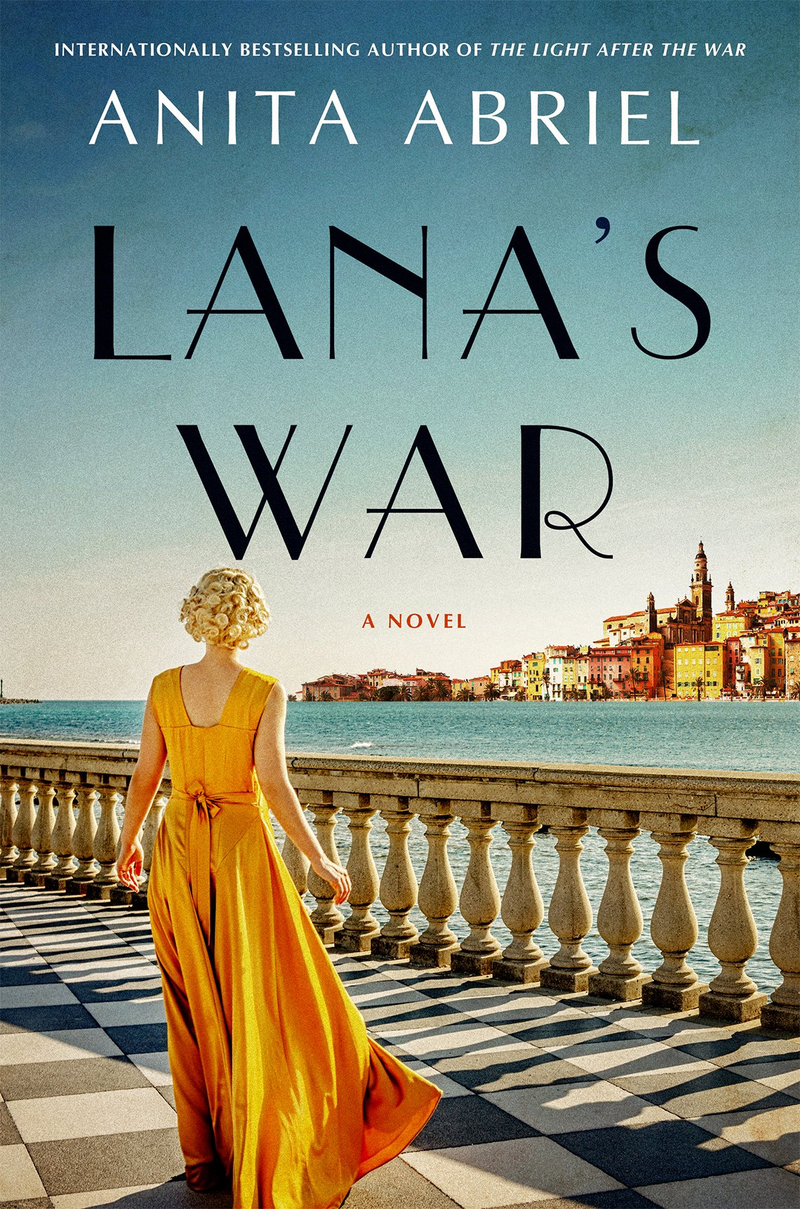 Portada del libro Lana's War de Anita Abriel.