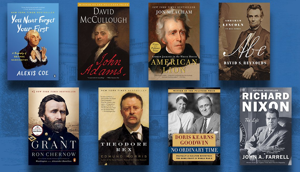 washington adams jackson lincoln grant roosevelt roosevelt nixon bios