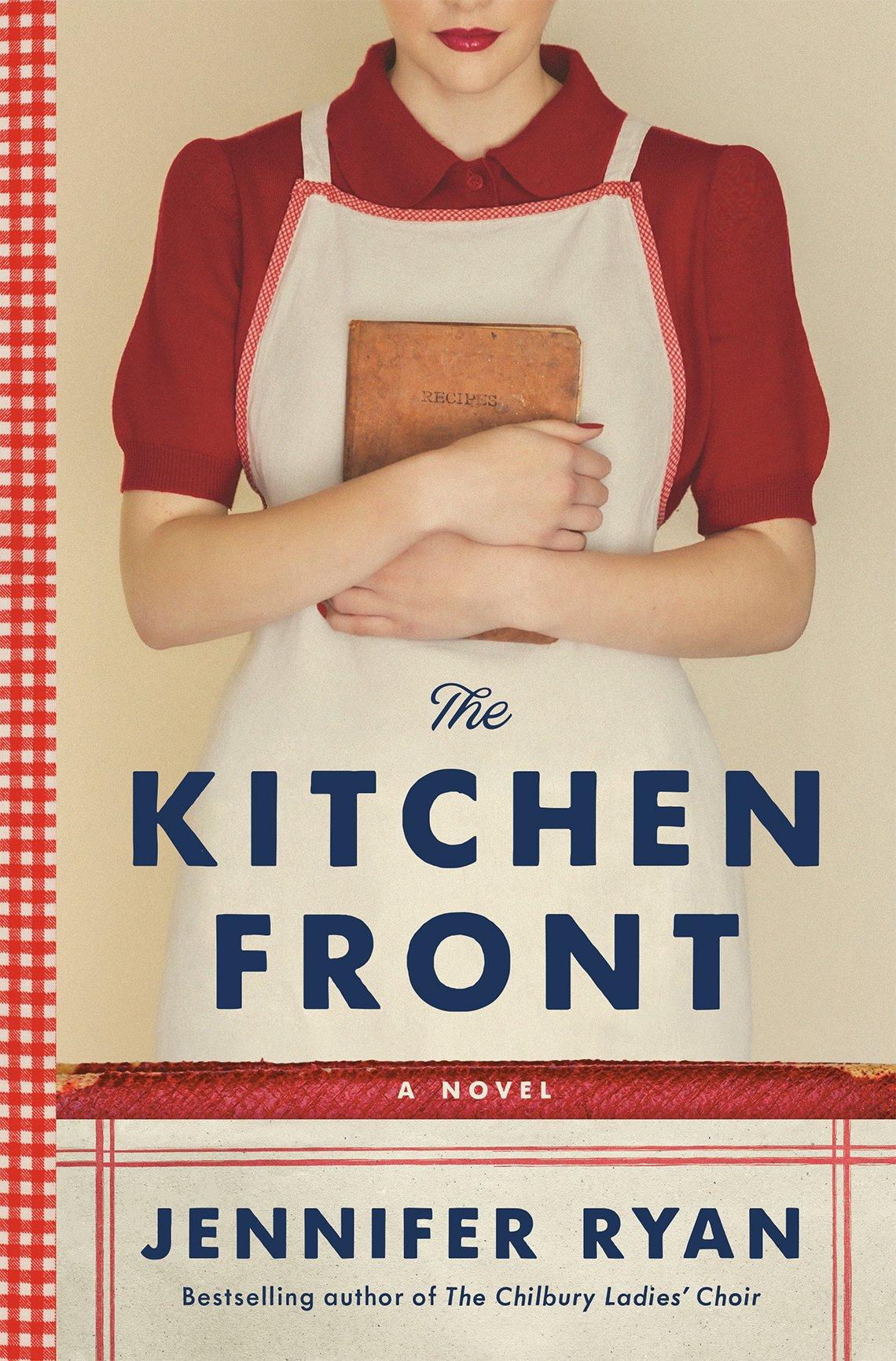 Portada del libro The Kitchen Front de Jennifer Ryan.